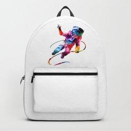 Rainbow Astronaut Design Backpack