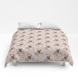 The Hipster Reader Comforters