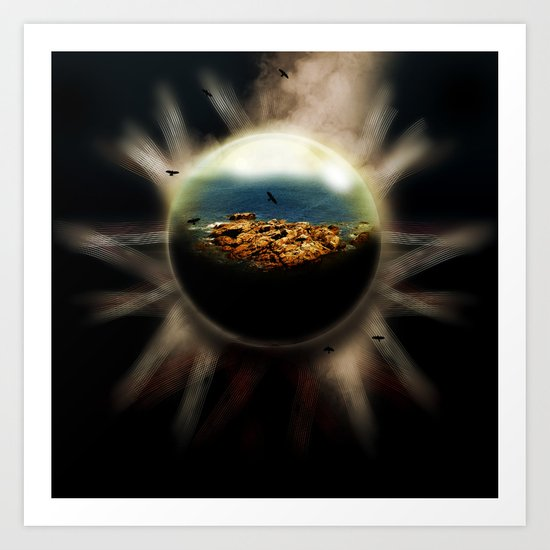 emanation Art Print