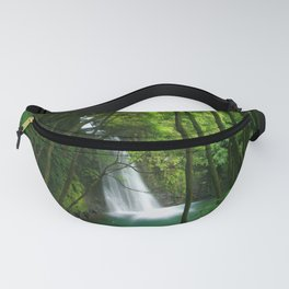 Waterfall in the Azores Fanny Pack