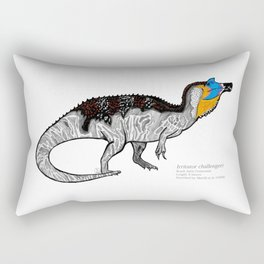 Irritator challengeri Rectangular Pillow