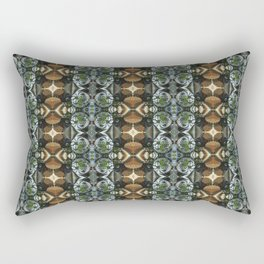 Fractal Art by Sven Fauth - Power Cell Rectangular Pillow