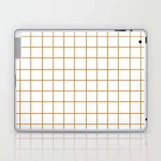 Grid (Bronze/White) Laptop & iPad Skin