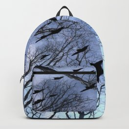 Crows Top Of The Sky Backpack