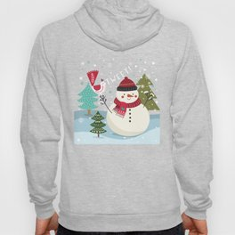 The Sweet Song Of Winter Friends Hoody