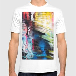 Blurry Paint Street Art Graffiti T-shirt