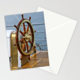 Helm wheel Stationery Cards