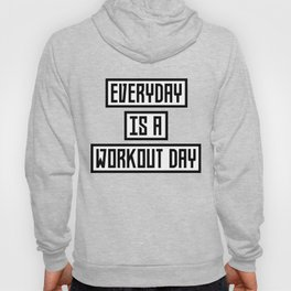 Workout Day fitness T-Shirt for all Ages Dx41w Hoody