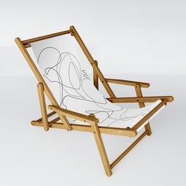 Lovers - Minimal Line Drawing Sling Chair