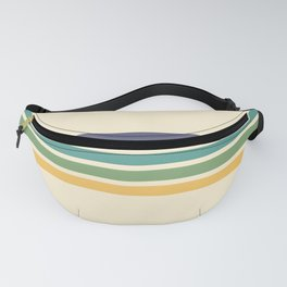 Rainbow Stripes III Fanny Pack