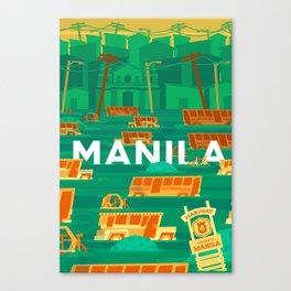 Baha Manila Canvas Print