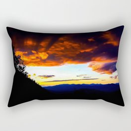 Imp Sunset Rectangular Pillow