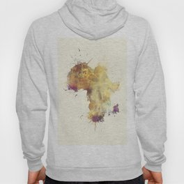 Africa map 5 #africa Hoody