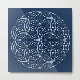Winter Pattern I Metal Print