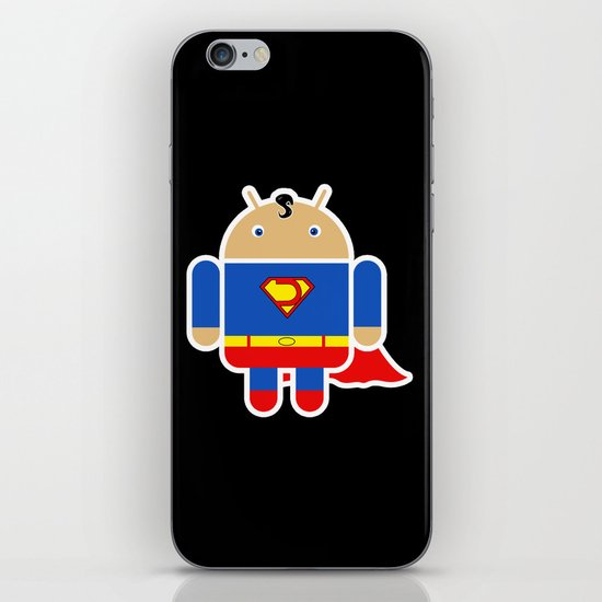 Super Droid iPhone & iPod Skin