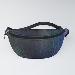 Blue Threads Fanny Pack