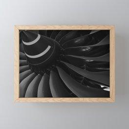 Turbine Blades Framed Mini Art Print