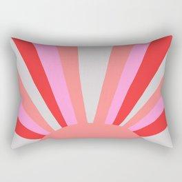 sunshine state, coral Rectangular Pillow