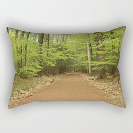 Northern Forest Rectangular Pillow
