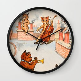 CATS ORCHESTRA - Louis Wain Cats Wall Clock