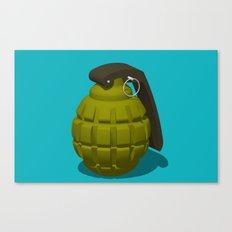 Hand Grenade Canvas Print