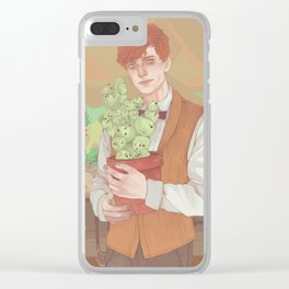 Newt Clear iPhone Case