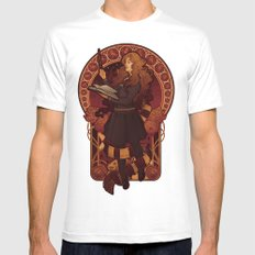 The Brightest Witch of Her Age White LARGE Mens Fitted Tee