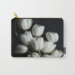 WHITE TULIPS1 Carry-All Pouch