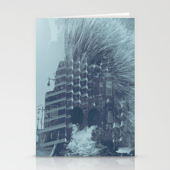 evacuate Stationery Cards