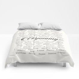 Wyoming Comforters