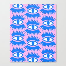 Bold Eyes II Canvas Print