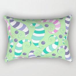 Crazy Twisters Pattern Print Rectangular Pillow