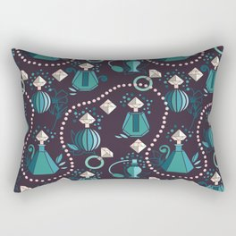 Diamonds and pearls Rectangular Pillow