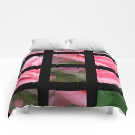Pink Roses in Anzures 2 Art Rectangles 2 Comforters