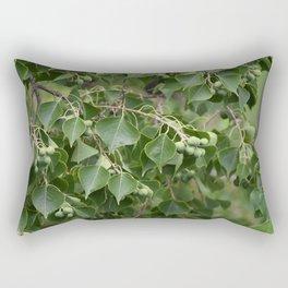 Chinese Tallow Tree Rectangular Pillow