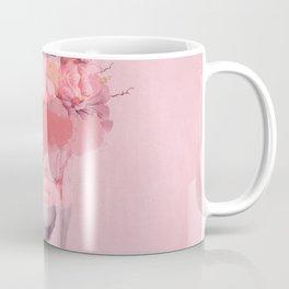 Woman in flowers Coffee Mug