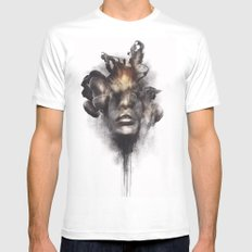 Portrait 16 MEDIUM White Mens Fitted Tee