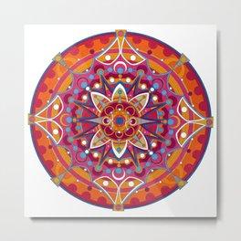 Mandala 005 Metal Print