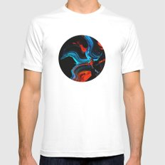 untitled White MEDIUM Mens Fitted Tee
