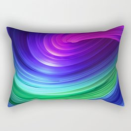 Twisting Forms #5 Rectangular Pillow
