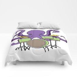 octopus drummer Drum Player Son Daughter gift Comforters