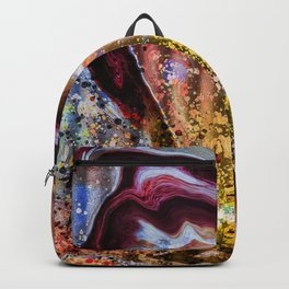 Marble Grease Backpack