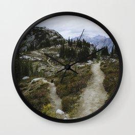 Heather Pass Wall Clock