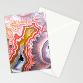 Agate Gem slice Stationery Cards