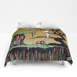 Sick Girl Comforters