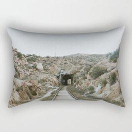 Train Tunnel Rectangular Pillow