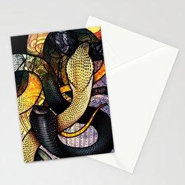 Equatorial Spitting Cobra Stationery Cards