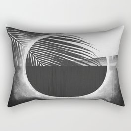 Solar Palm Three Rectangular Pillow