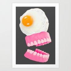 Egg Rex Art Print