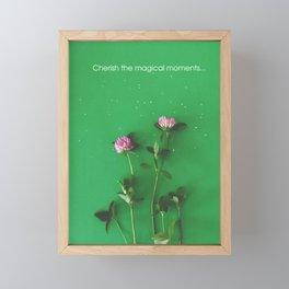 Magical summer | Floral Photography Framed Mini Art Print